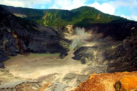 bandung volcano