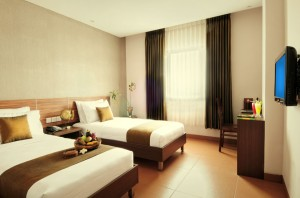 sukajadi hotel-executive-twin-bed