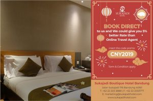 Sukajadi Boutique Hotel Chinese New Year