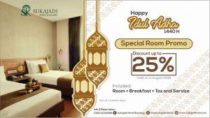Sukajadi Hotel & Gallery Idul adha 2019