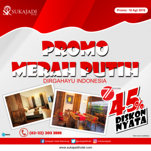 Sukajadi Hotel  Promo 17 Agt 500x500