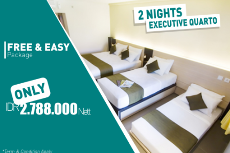 Sukajadi Hotel Free & Easy Exe Quarto