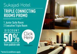 sukajadi-hotel-triple-connecting-room