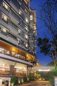 Sukajadi Hotel Back Entrance Night Time Resize