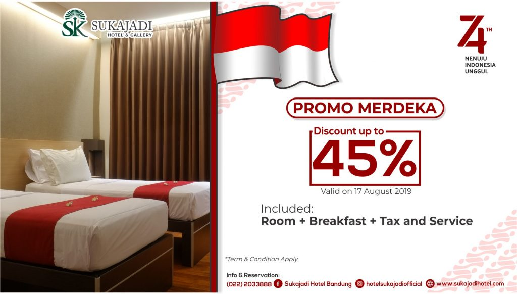 Promo Merdeka Sukajadi Hotel